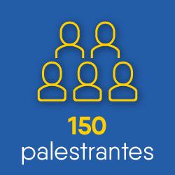 150 palestrantes